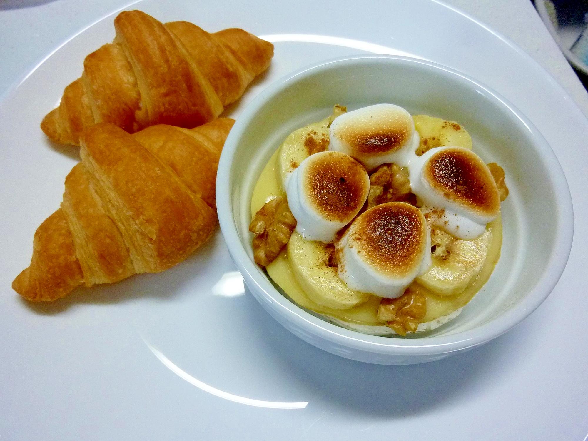 ☆バナナマシュマロココットカマンde朝食プレート☆