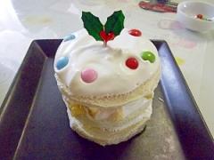 食パンで☆子供と作れる簡単な☆クリスマスケーキ