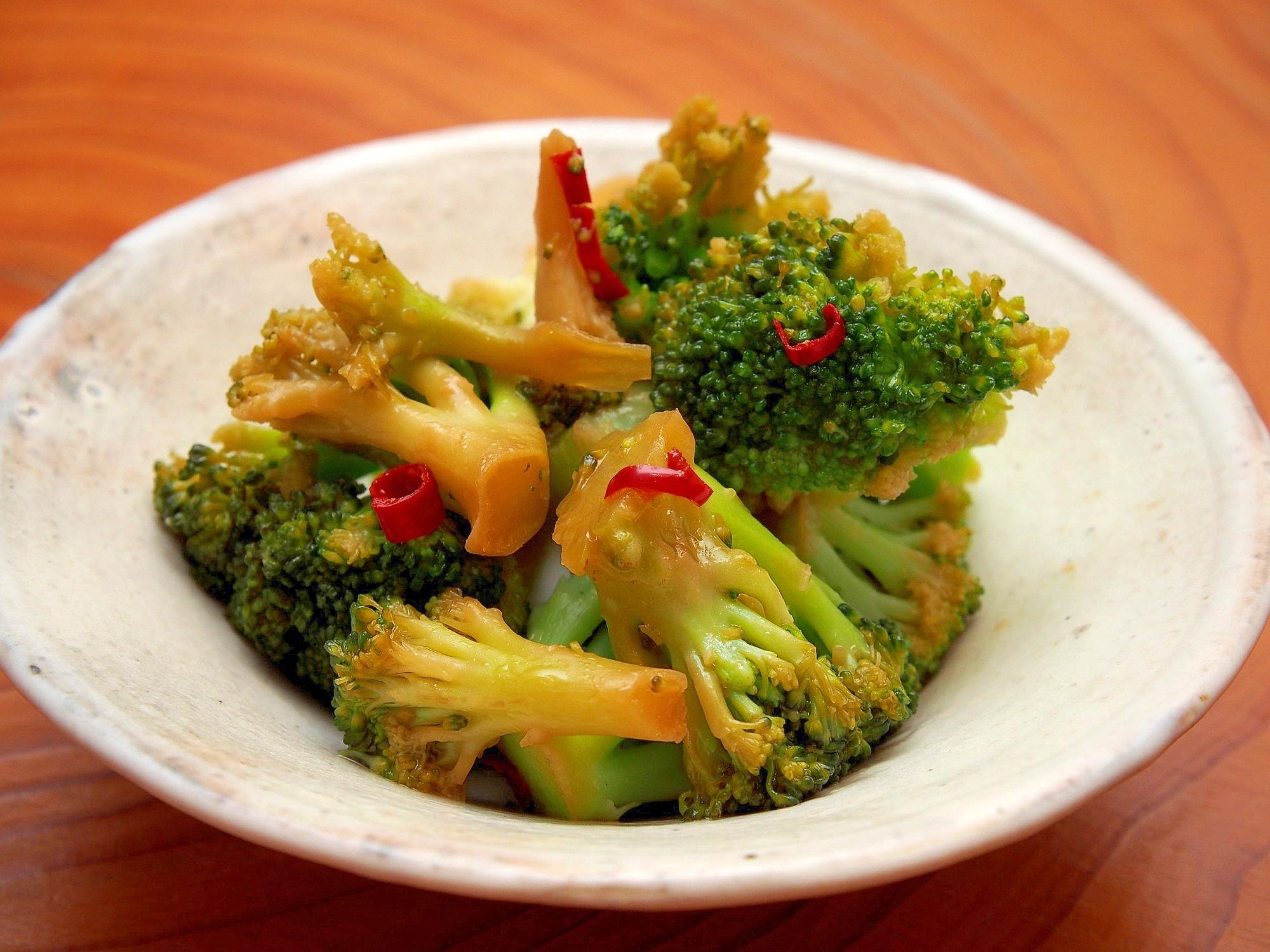 簡単副菜!ブロッコリーの中華風マリネ レシピ・作り方 by 鶏のから揚げ 楽天レシピ