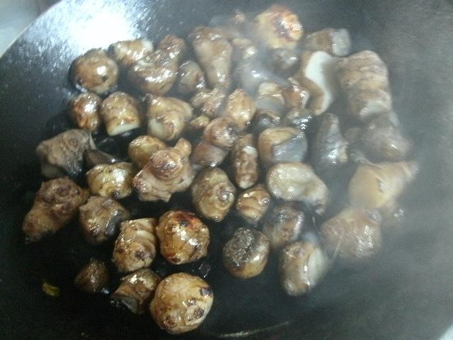 菊芋のソース煮