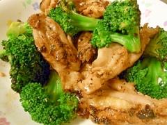 簡単♪セセリ(鶏肉)とブロッコリーの炒め物