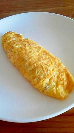 塩さばそぼろ入りチーズオムレツ♪