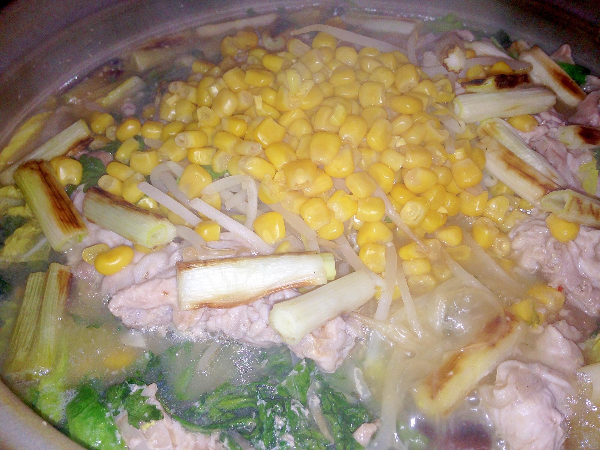 野菜たっぷり!我が家の定番とり野菜鍋