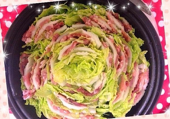 豚こまで簡単!白菜豚肉ミルフィーユ酒蒸し レシピ・作り方 by アルコールミユ|楽天レシピ