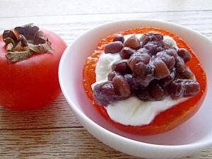 完熟柿の和スイーツ♪