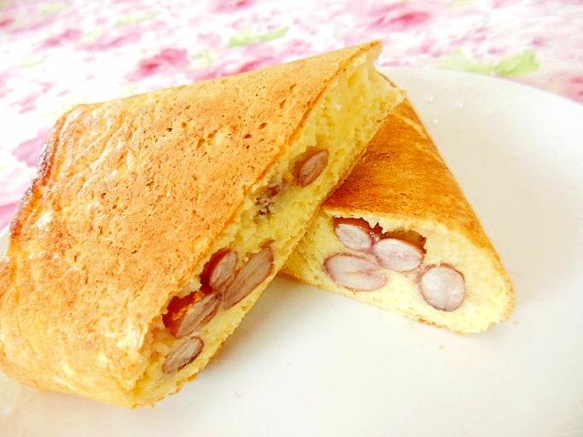 3. 金時豆と生姜のパンケーキ