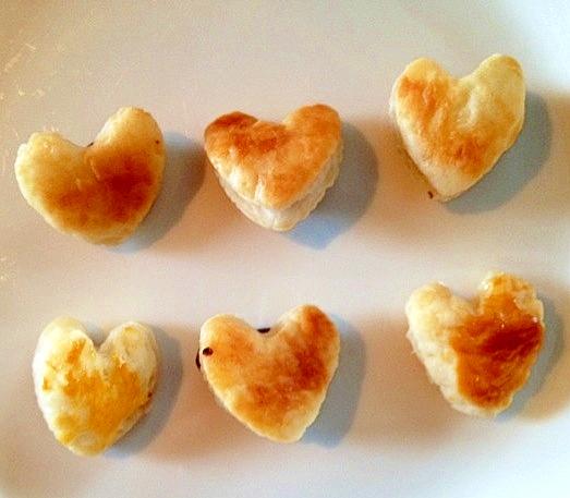 【バレンタイン】パイシートで簡単ハートシュガーパイ