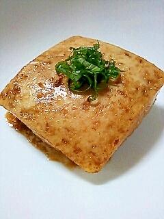 バターしょうゆで豆腐&玉ねぎステーキ