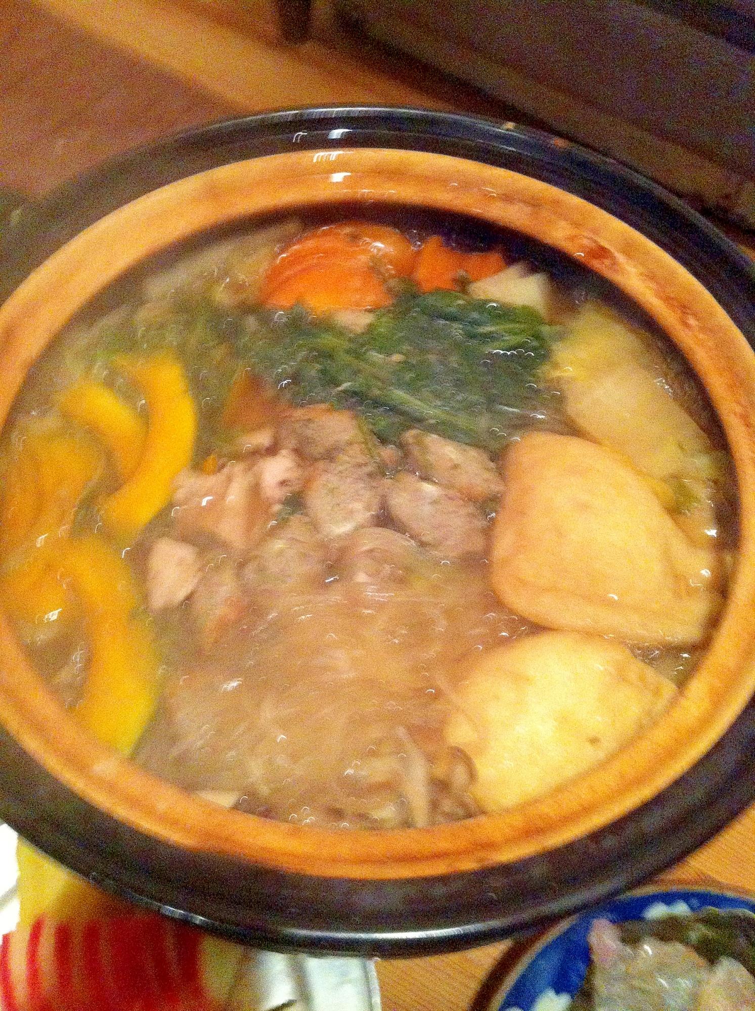 体ぽかぽか、和風生姜鍋