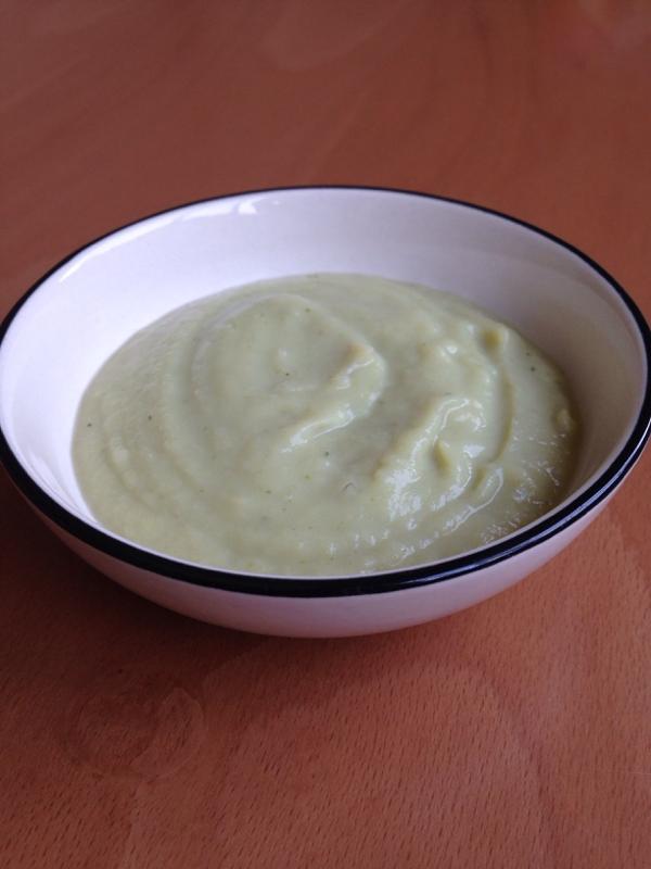 離乳食♪ブロッコリーとさつまいものミルクポタージュ