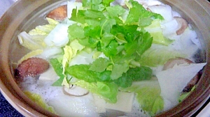 シンプルな基本の湯豆腐