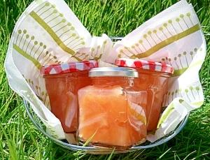 紅玉で作る綺麗な色のリンゴジャム