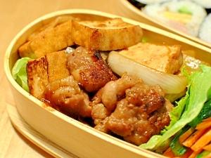 簡単☆お弁当に!豚肉と厚揚げの炒め物 レシピ・作り方 by asami0418|楽天レシピ