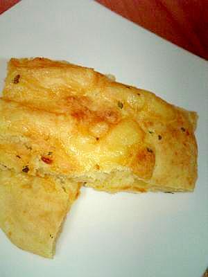 木綿豆腐とホットケーキミックスで簡単ピザパン