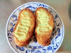 練乳メロンパン風トースト