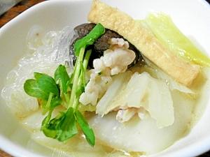 味覇(ウエイパー)deかんたん白菜のミルフィーユ鍋