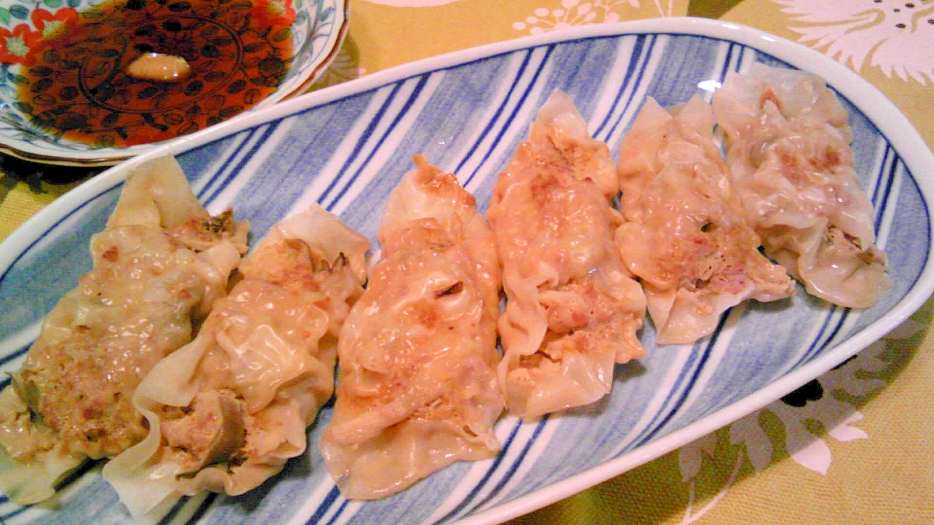 合いびき肉・舞茸のしゅうまい風