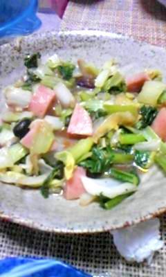 簡単★野菜炒め