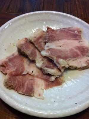 茹で豚☆バジルソルト