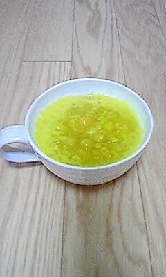 簡単☆ひよこ豆のオートミール粥
