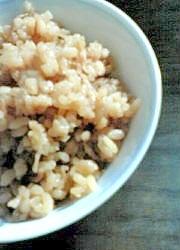 切り干し大根と高野豆腐の炊き込みご飯