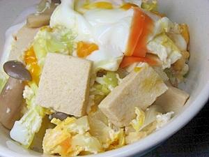 凍み豆腐丼