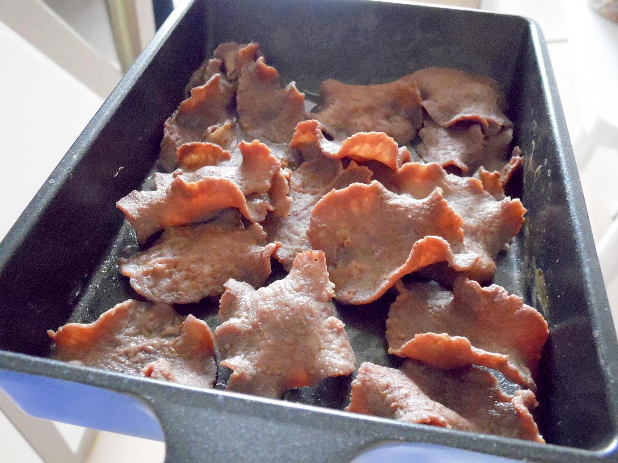 薄切り牛タン焼き