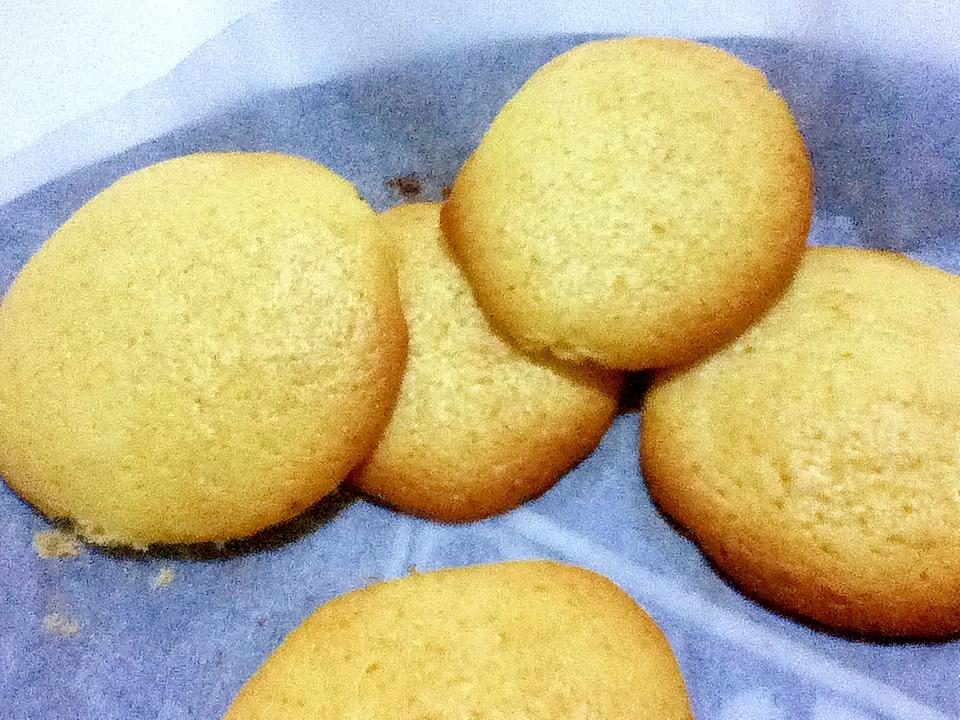 ホットケーキMIXのレモンクッキー