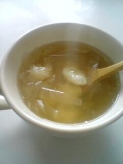 8. スープに入れて