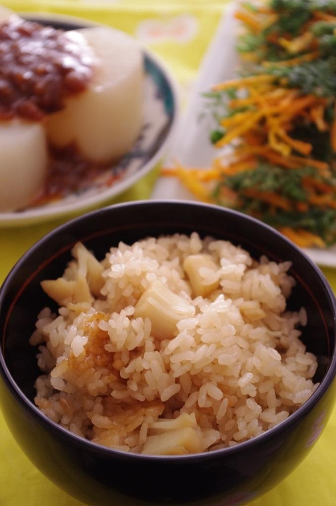 3. ホタテの炊き込みご飯