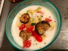 夏野菜のライタ(ヨーグルトサラダ)