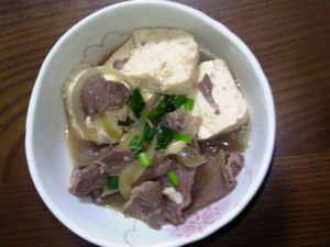簡単!家庭の味☆牛肉豆腐