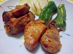 豚のグリル焼き