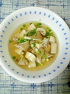 ☆はんぺん舞茸中華スープ☆