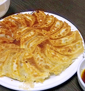 中華街で食べたあの肉まんの具を思い出す焼き餃子