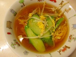 簡単のきゅうりスープ
