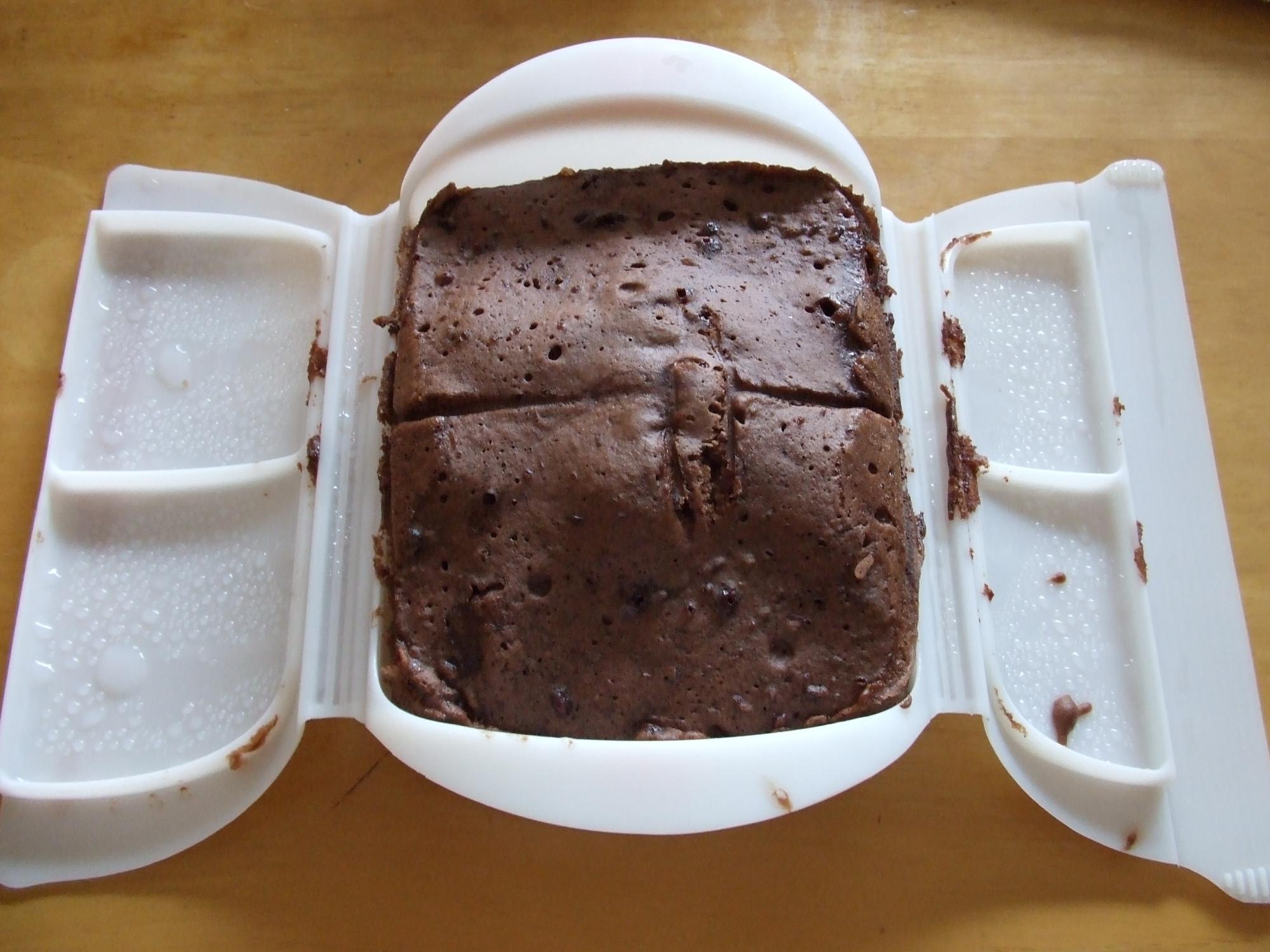ルクエでチョコドーナツ風ケーキ
