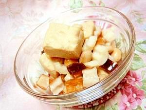 簡単速攻大豆と高野豆腐のウマうま煮込み