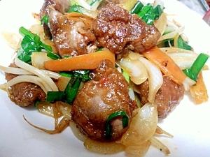 中華料理屋さんのレバニラ炒め(鶏レバー) レシピ・作り方