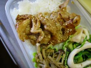 お弁当にぴったり!簡単豚の生姜焼き