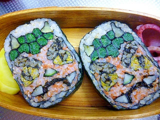 玄米菜食☆節分弁当