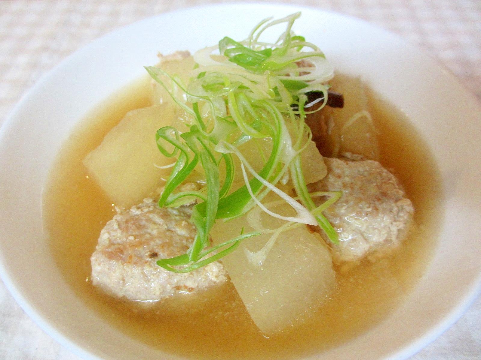 2.冬瓜と肉団子の和風スープ