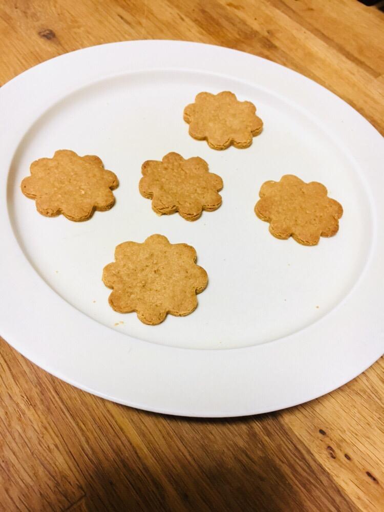 4.はちみつきな粉クッキー