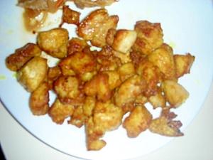食欲増進!簡単!カレー粉で鶏肉