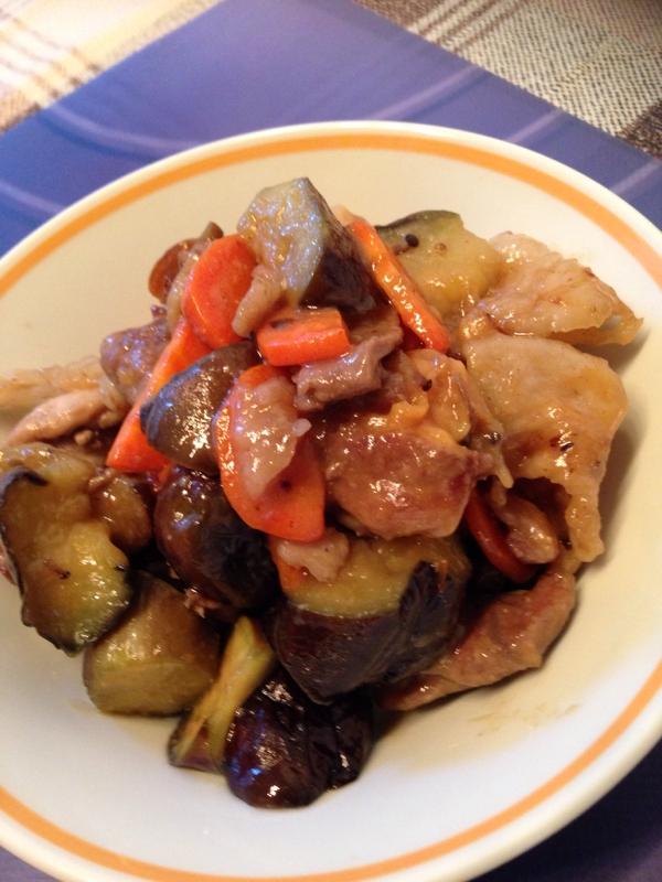 豚肉の味噌炒め