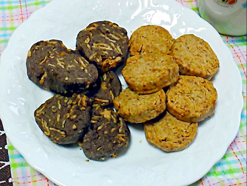 5. ざっくりヘルシー!玄米フレーククッキー