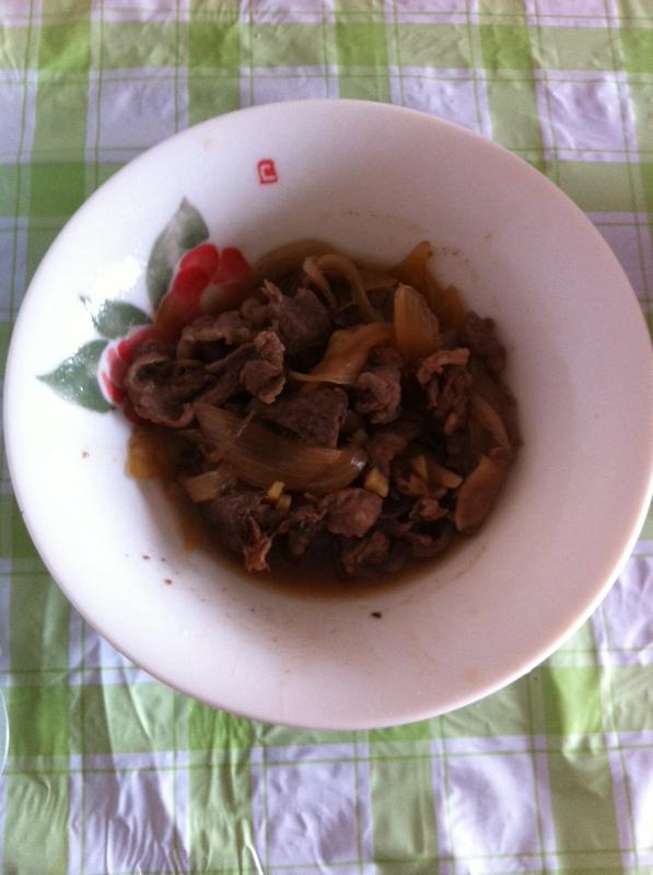★牛肉と大根の煮物★