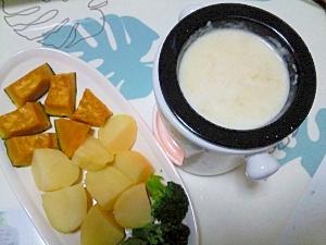 チーズフォンデュ++