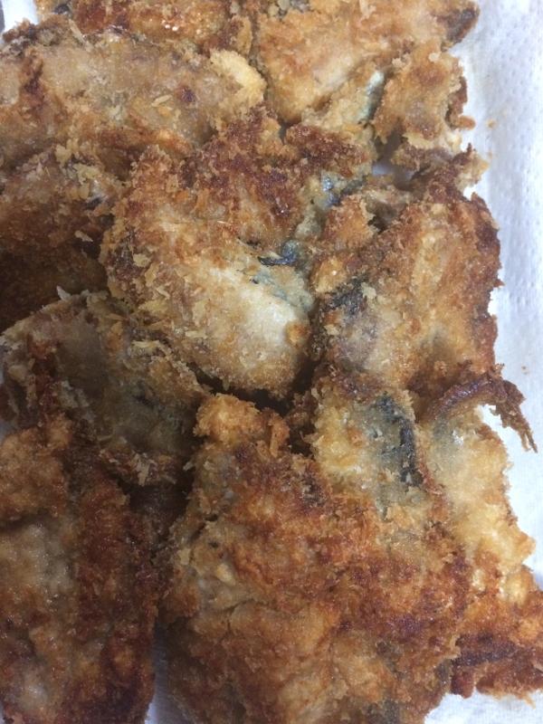 大イワシのバルサミコ酢漬けフライ(*´ェ`*)