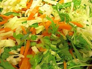 彩、栄養しっかり5種の野菜サラダ